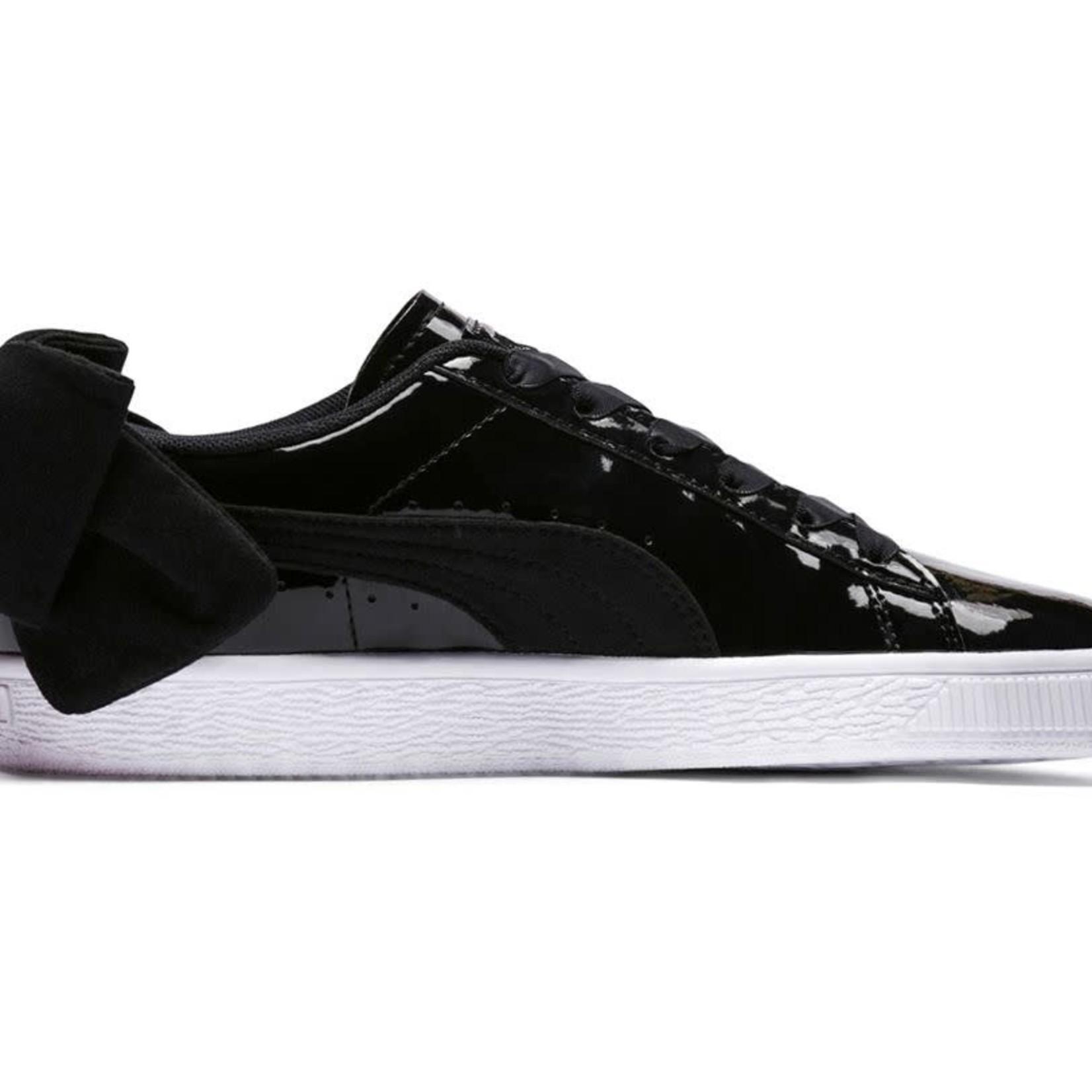 PUMA Puma Footwear : Basket Suede Bow Shoes