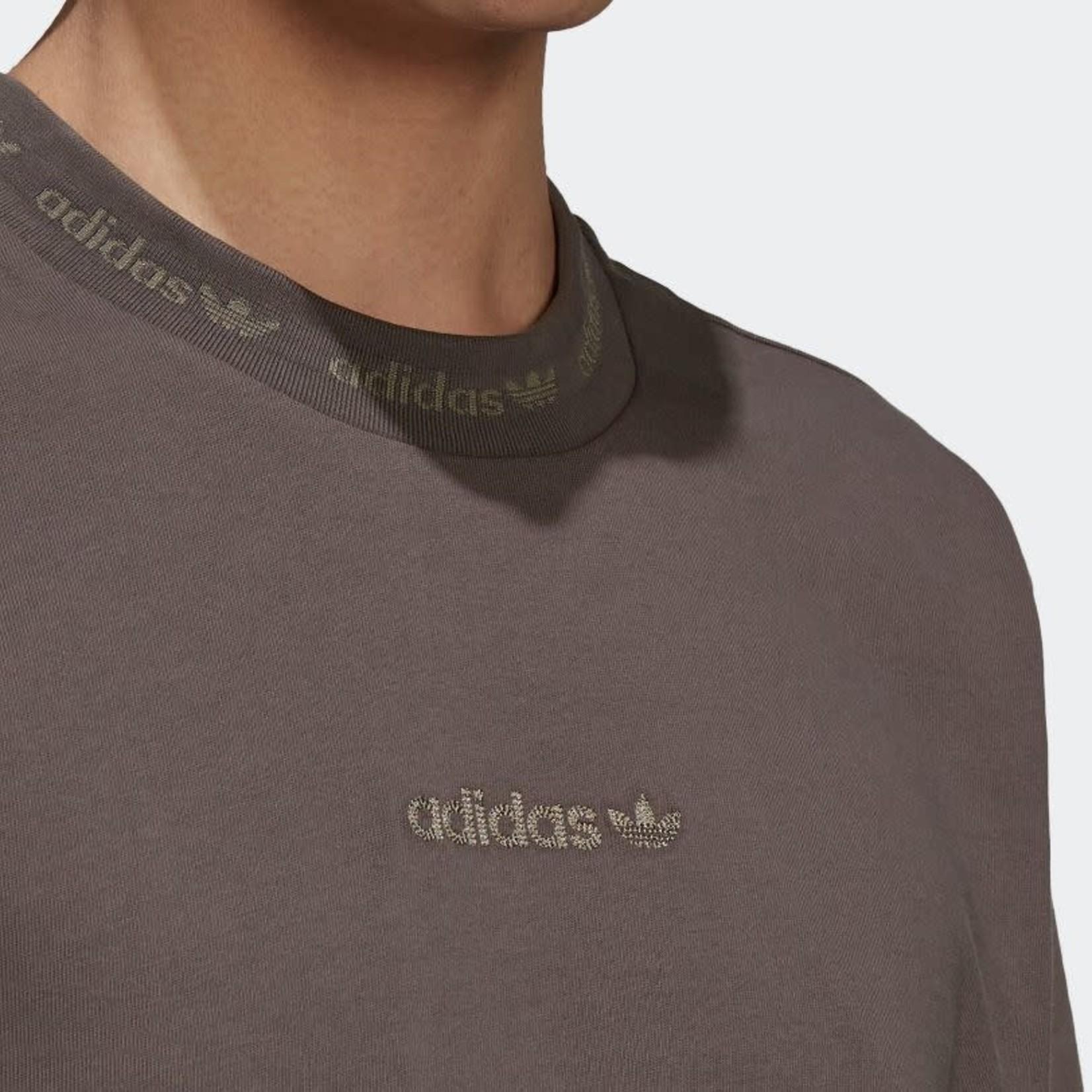 Adidas Adidas : Rib Detail Short Sleeve Tee
