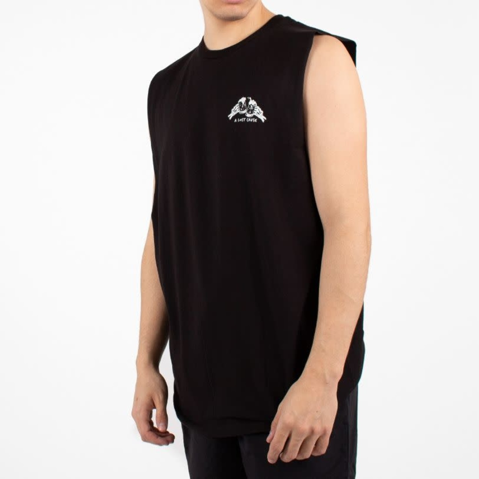 A Lost Cause A Lost Cause : Party Time V2 Sleeve Less T-Shirt