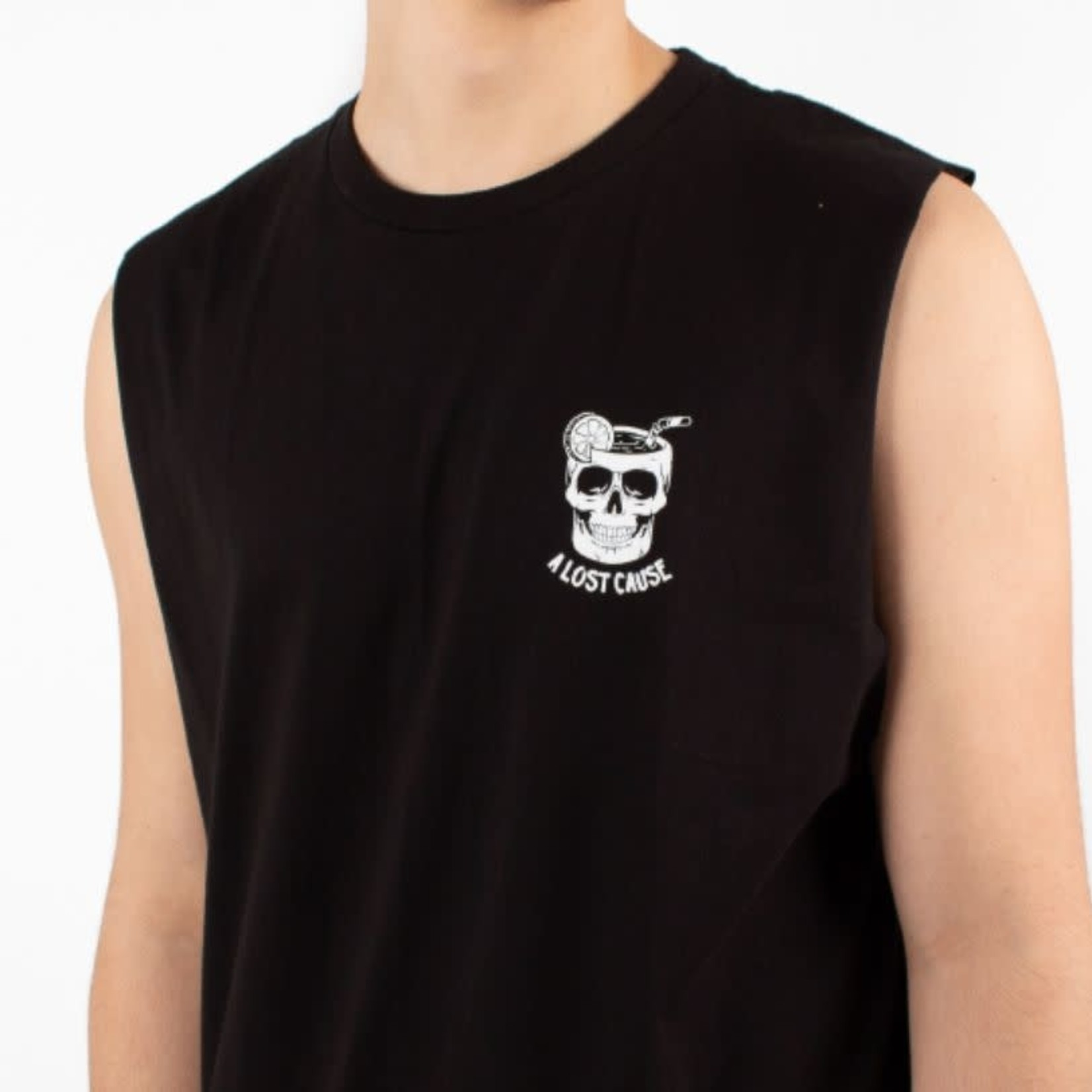 A Lost Cause A Lost Cause : Cocktail V2 Sleeve Less T-Shirt
