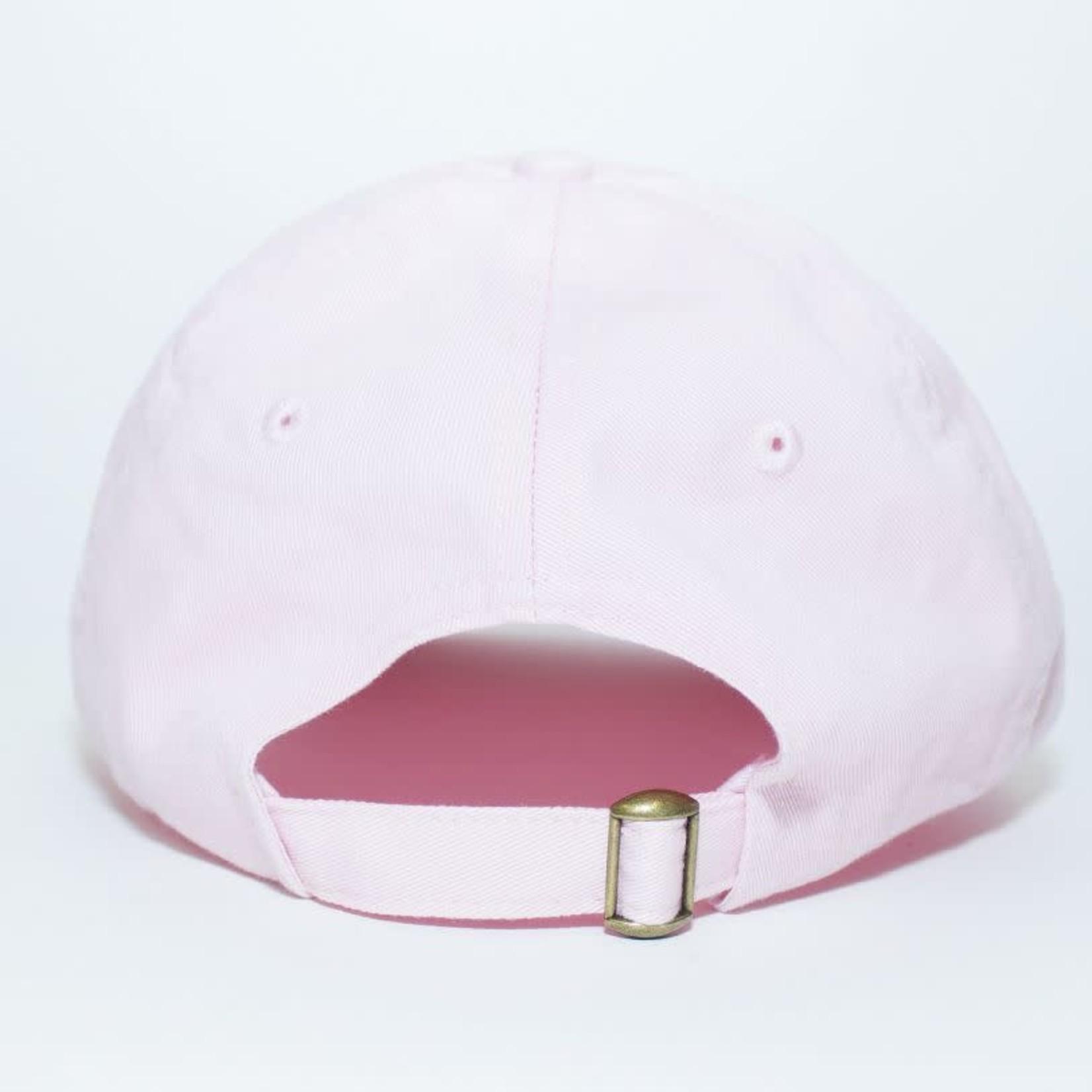 WLKN WLKN : Script Dad Hat Light Pink O/S