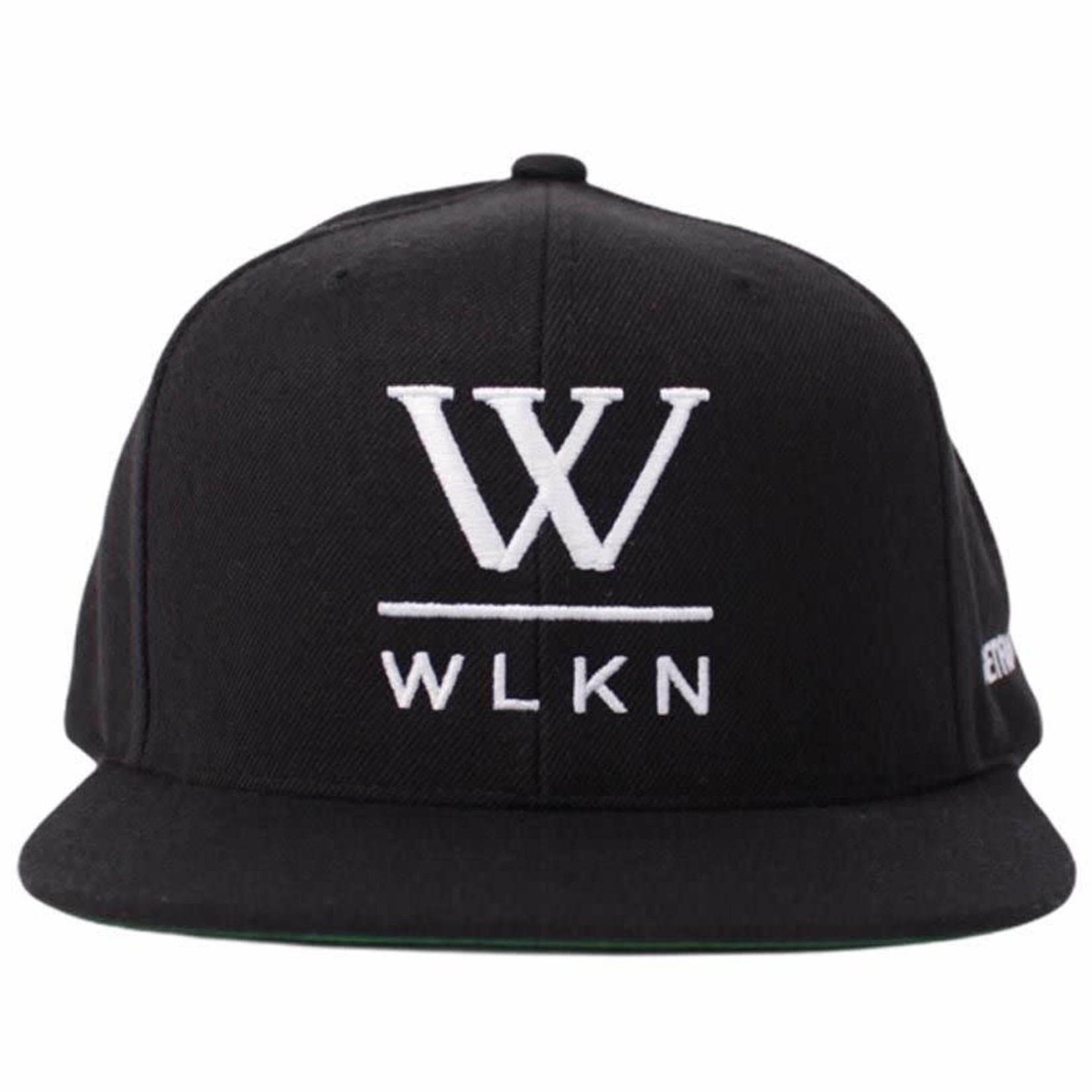 WLKN WLKN : WLKN - Basic Signature x #GETFAMILIAR Logo Snapback Black OS