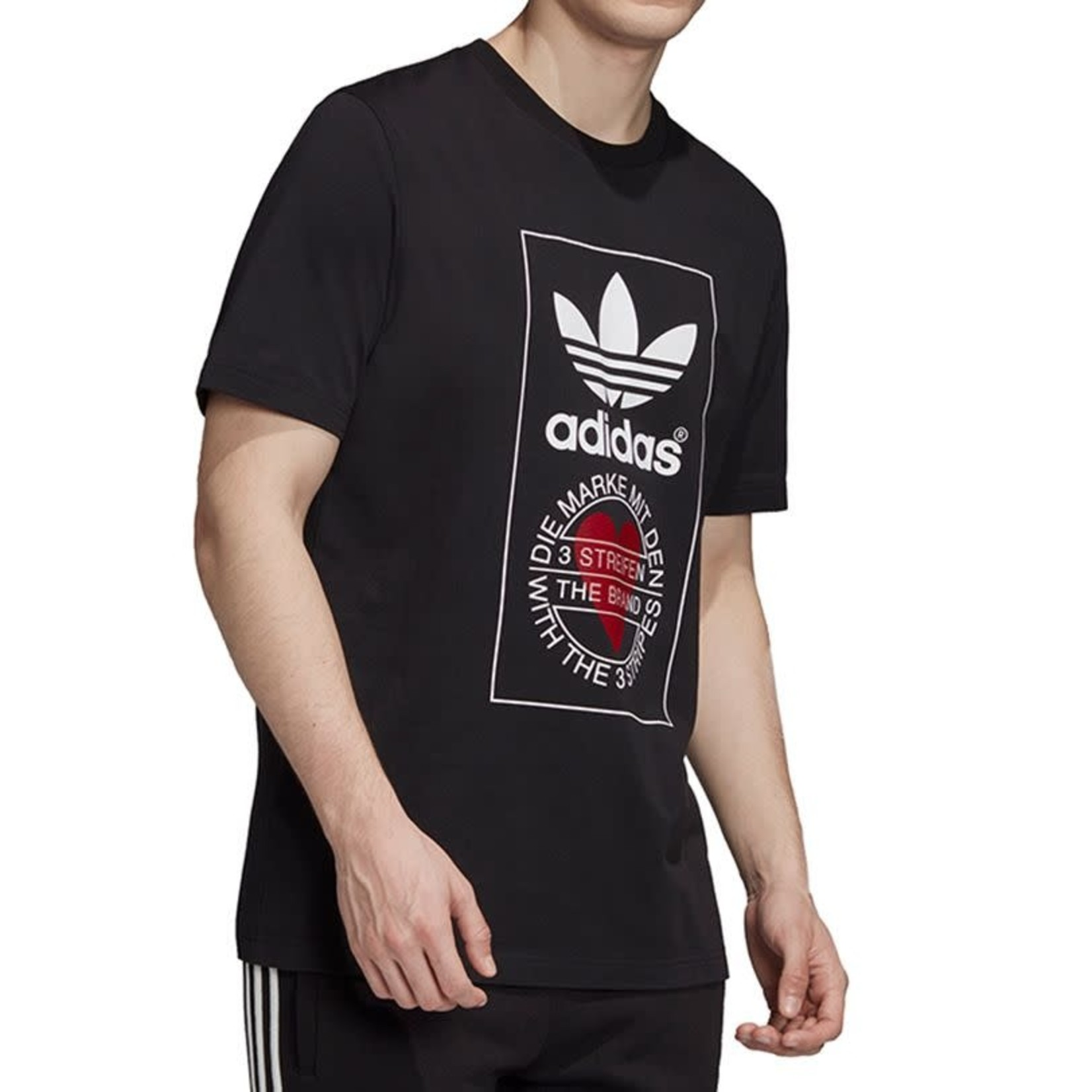 Adidas Adidas : Valentine Short Sleeve Unisex T-Shirt