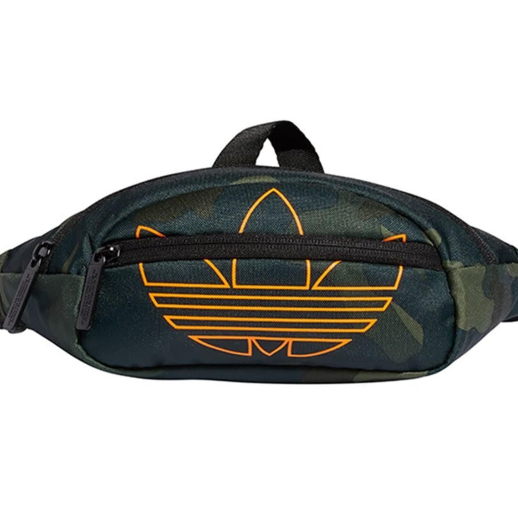 Adidas Adidas : originals National Waist Pack Camo/Signal Orange O/S