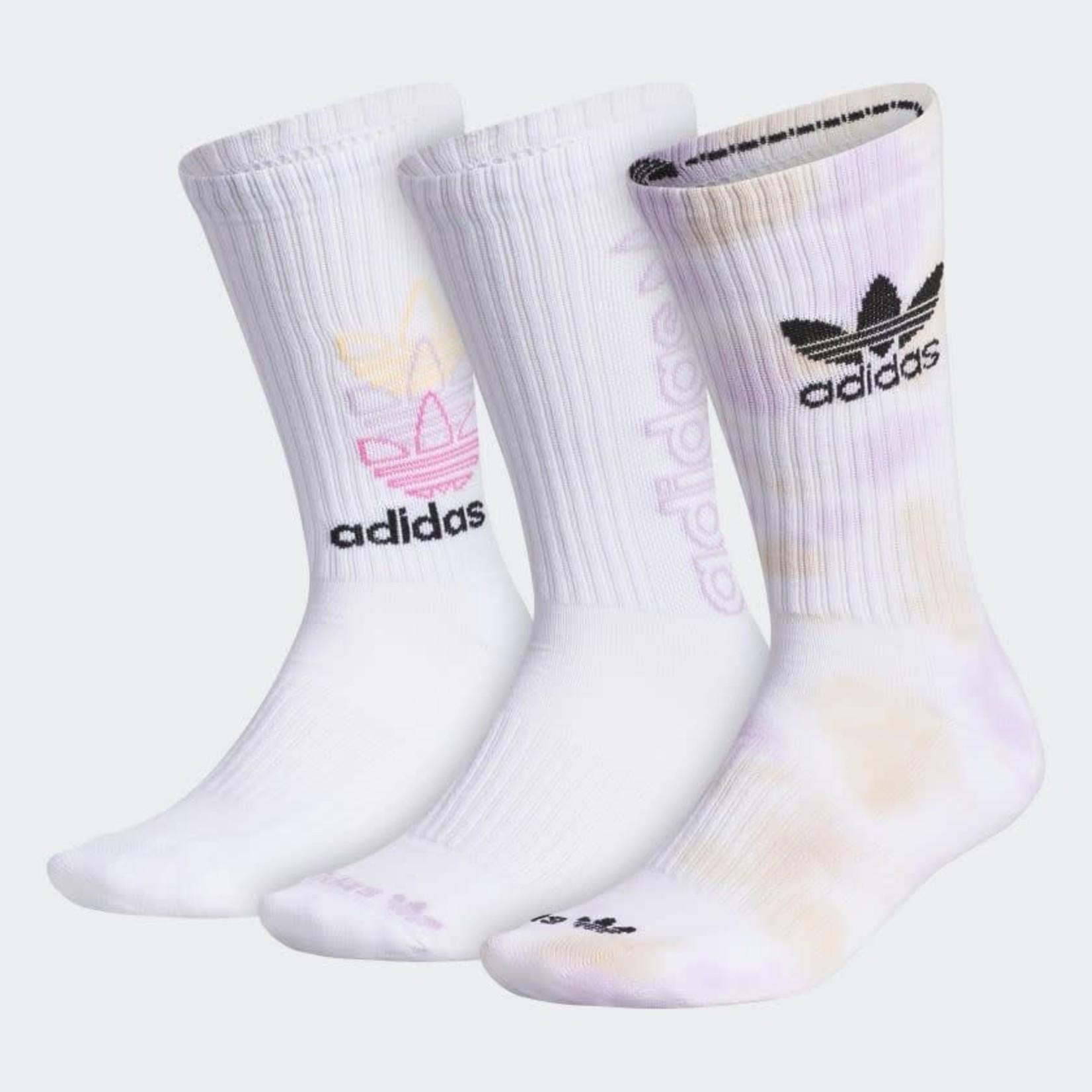Adidas Adidas : Men Originals Colorwash 3Pack Crew Socks