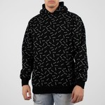 WLKN WLKN : Allover Rounded Logo Hoodie
