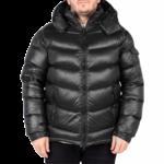 Ucxx UCXX : Matt Black Puffy Down Jacket