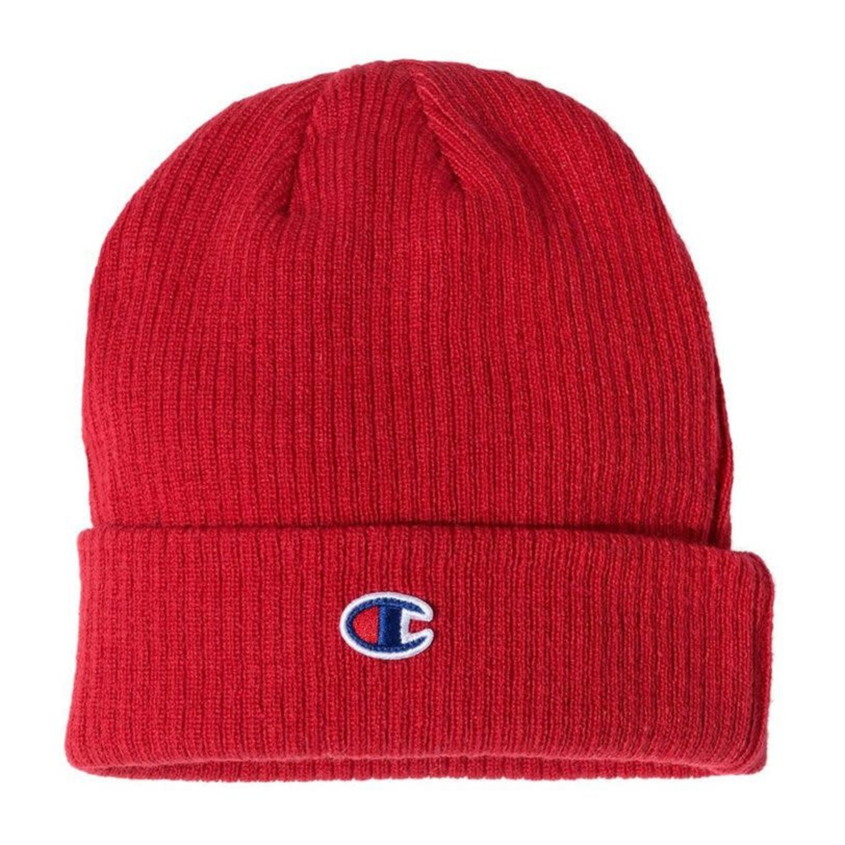 Champion Champion : Ribbed Knit Beanie Red Scarlet O/S