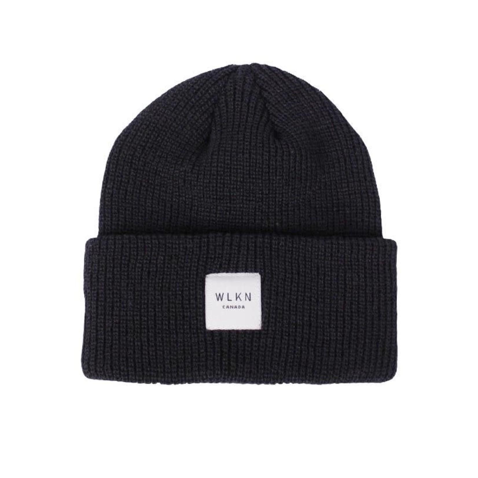 WLKN WLKN : Label Beanie Black O/S