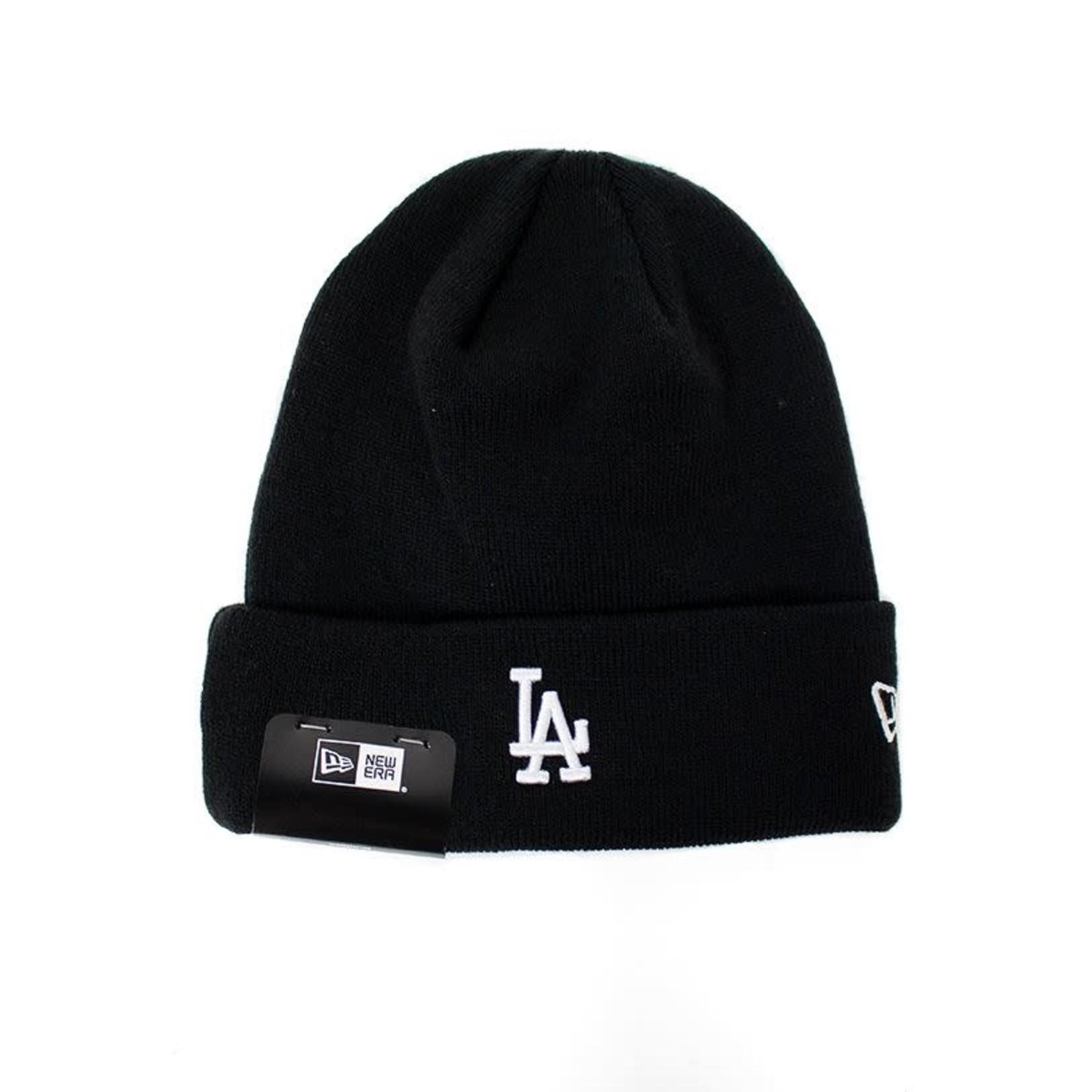 New Era New Era : Los Angeles Dodgers MLB Mini Logo Knit Cuff Beanie Black O/S