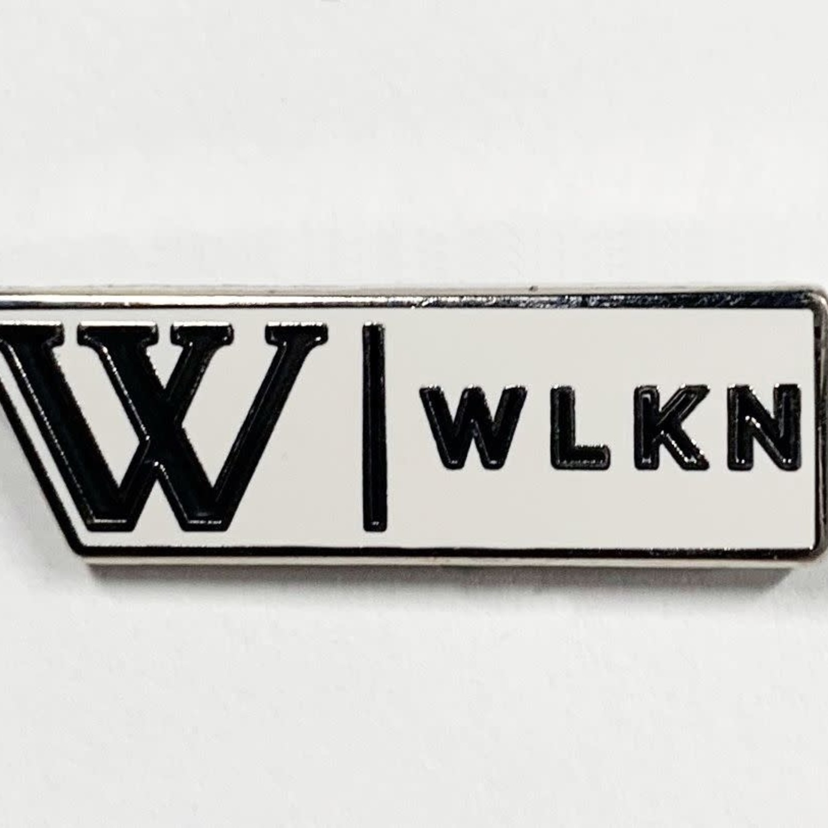 WLKN WLKN : The Building Signature Pin Silver White Black O/S