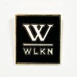 WLKN WLKN : Basic Logo Pin Gold Black White O/S