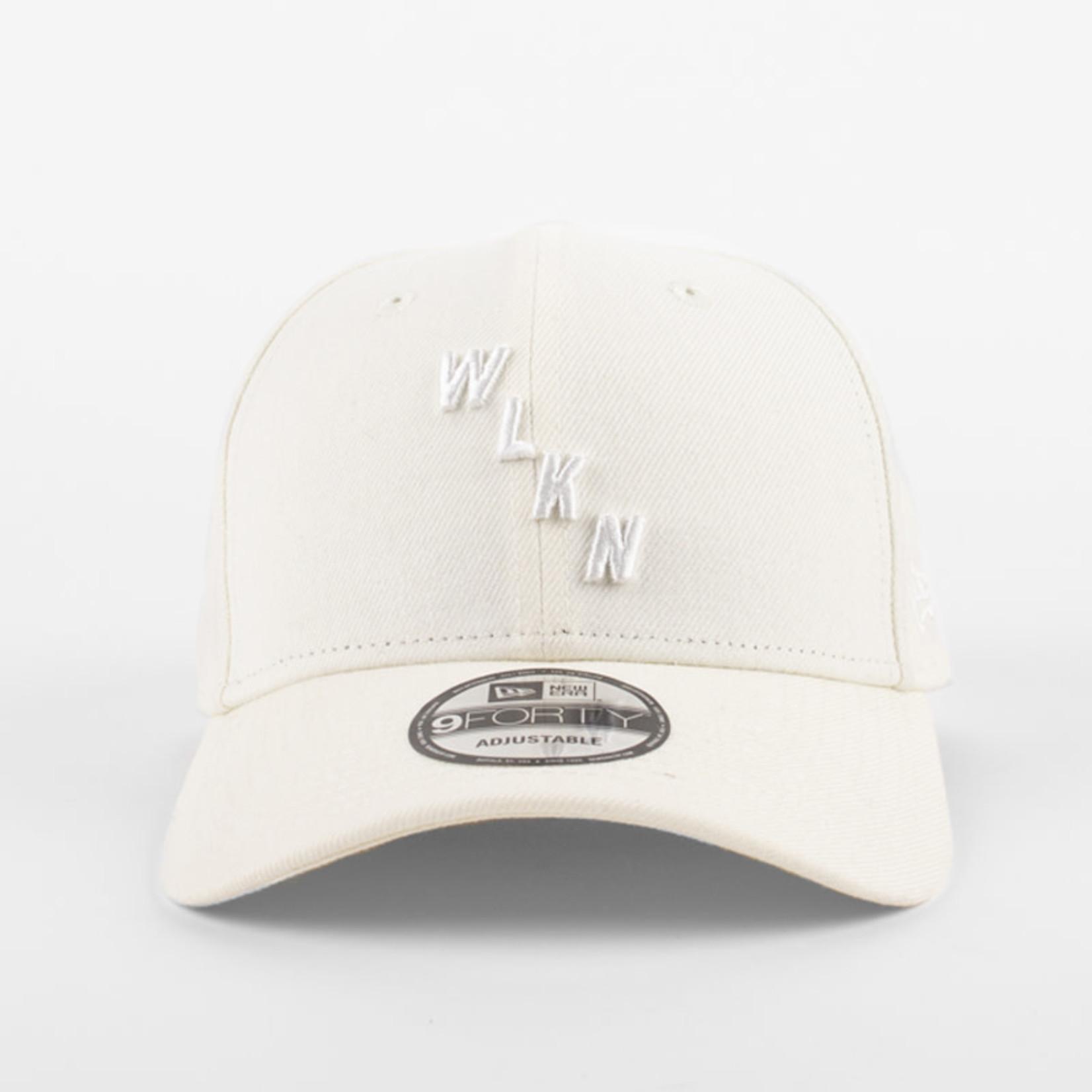 New Era New Era : 940 WLKN Obliquewhite Logo Cap