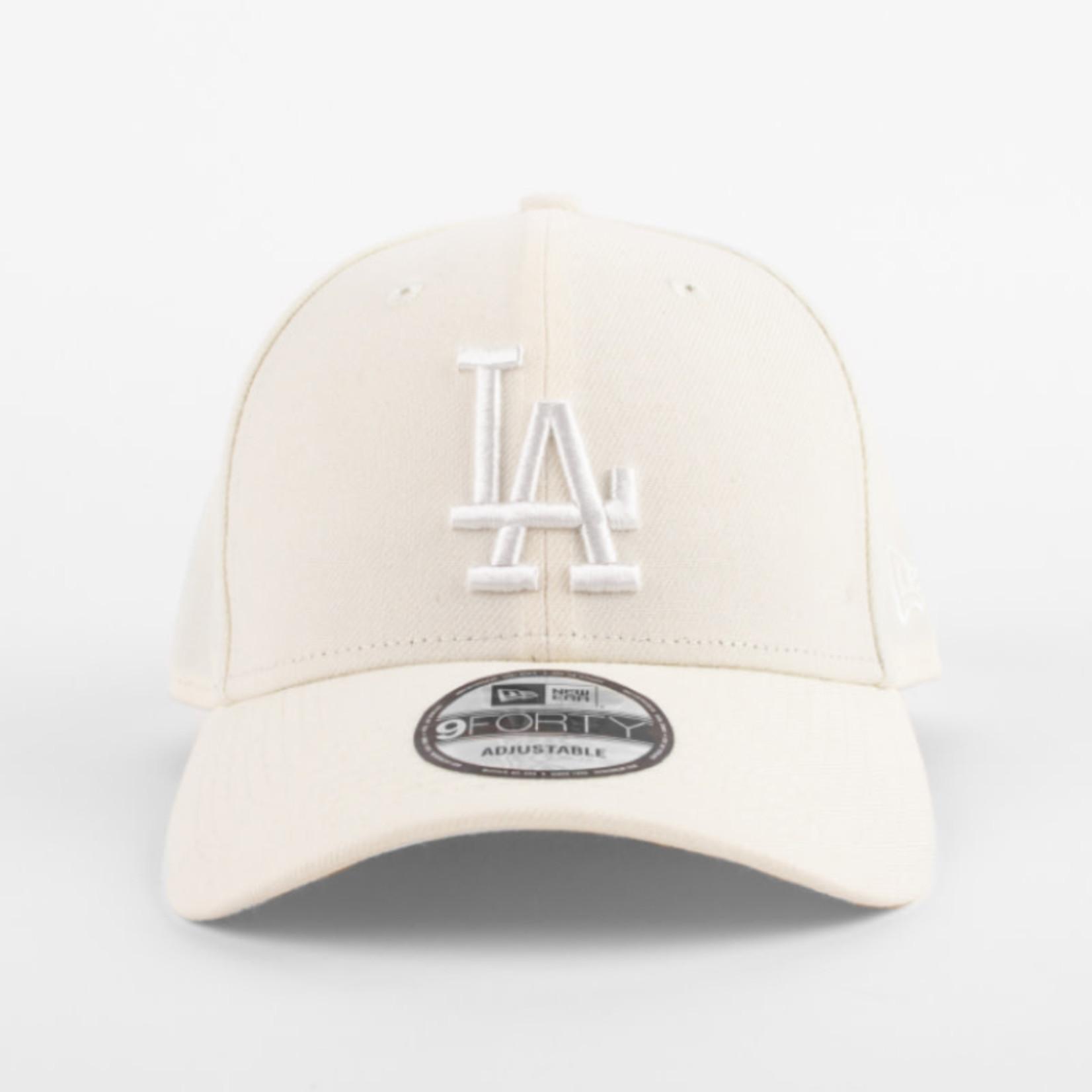 New Era New Era : 940 Los Angeles Dodgers White Logo Cap