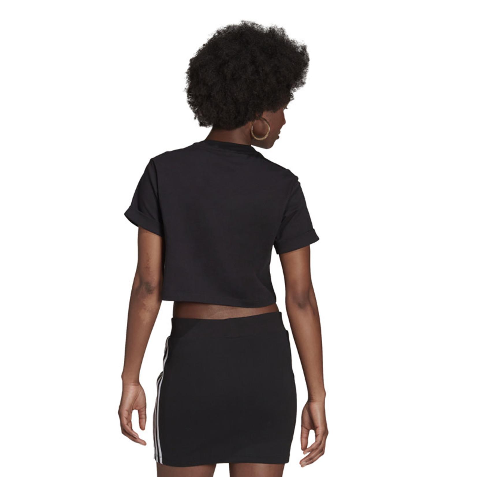 Adidas Adidas : Cropped Short Sleeve T-Shirt