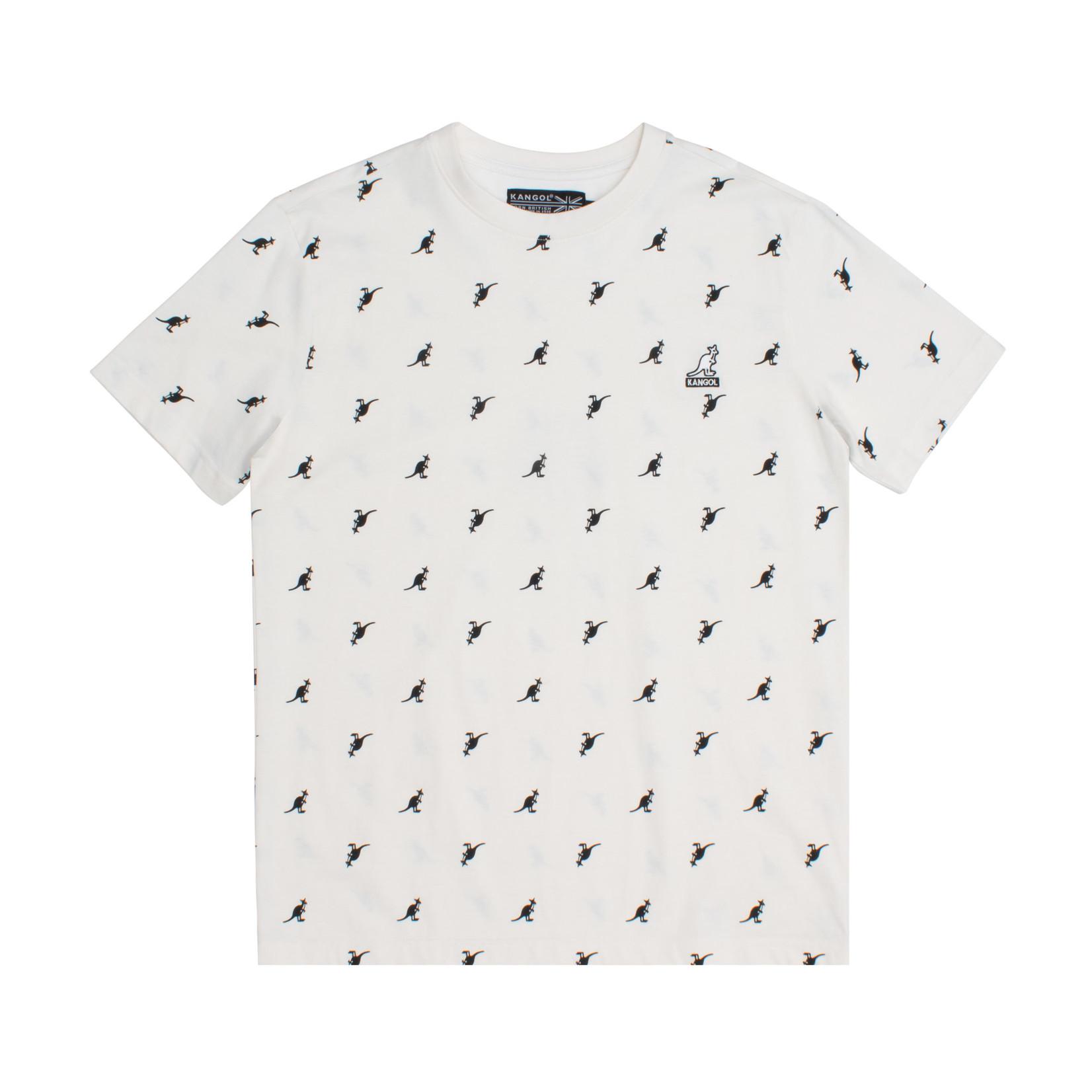 Kangol Kangol : All Over Print T-Shirt