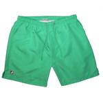 Kangol Kangol : Green Basic Boardshort