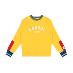 Kangol Kangol : Yellow Retro Crewneck