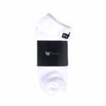 WLKN WLKN : Box Logo No Show Socks 3 Pack