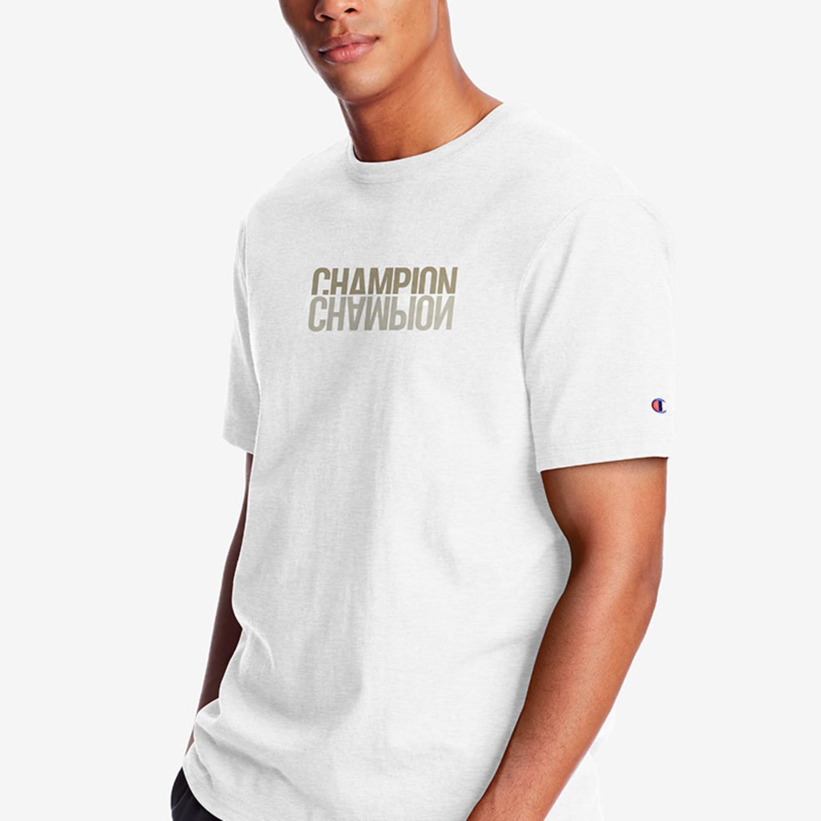 Champion Champion : Double Chest Logo Heritage Tee