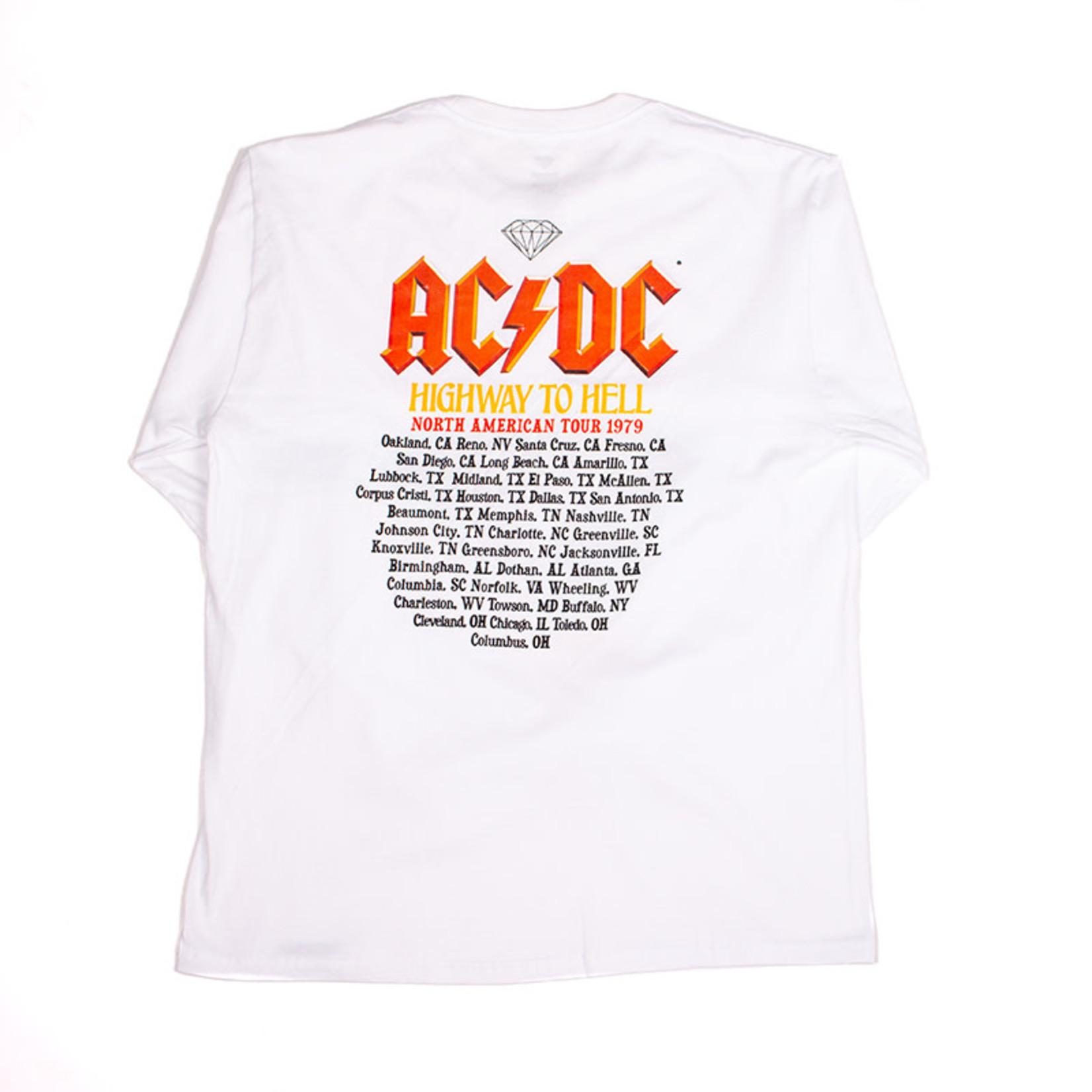 Diamond Supply Co. Diamond x ACDC : Highway To Hell Long Sleeve Tee