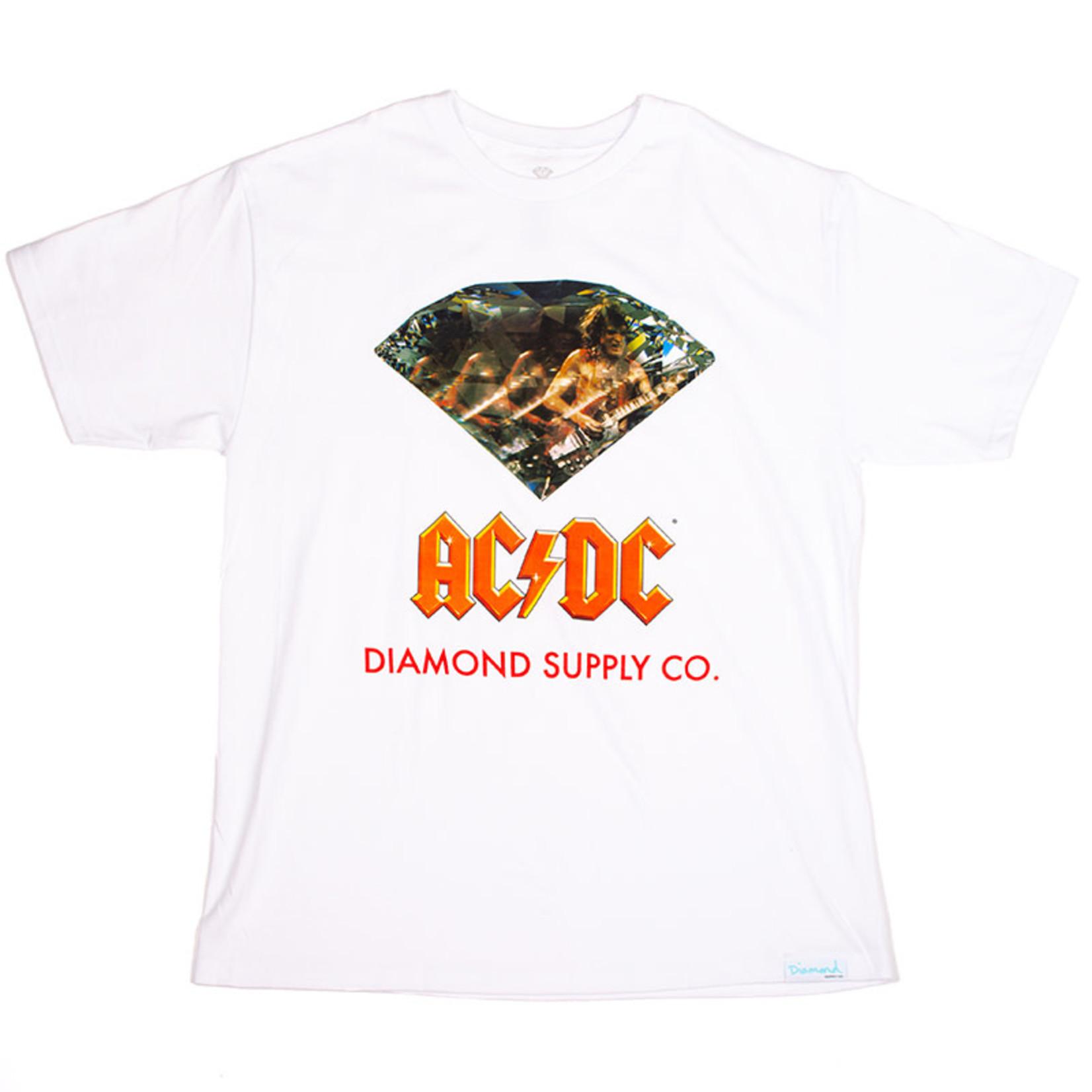Diamond Supply Co. Diamond x ACDC : Diamond Short Sleeve Tee