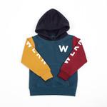 WLKN WLKN : Junior Rounded Sleeves Logo Hoodie