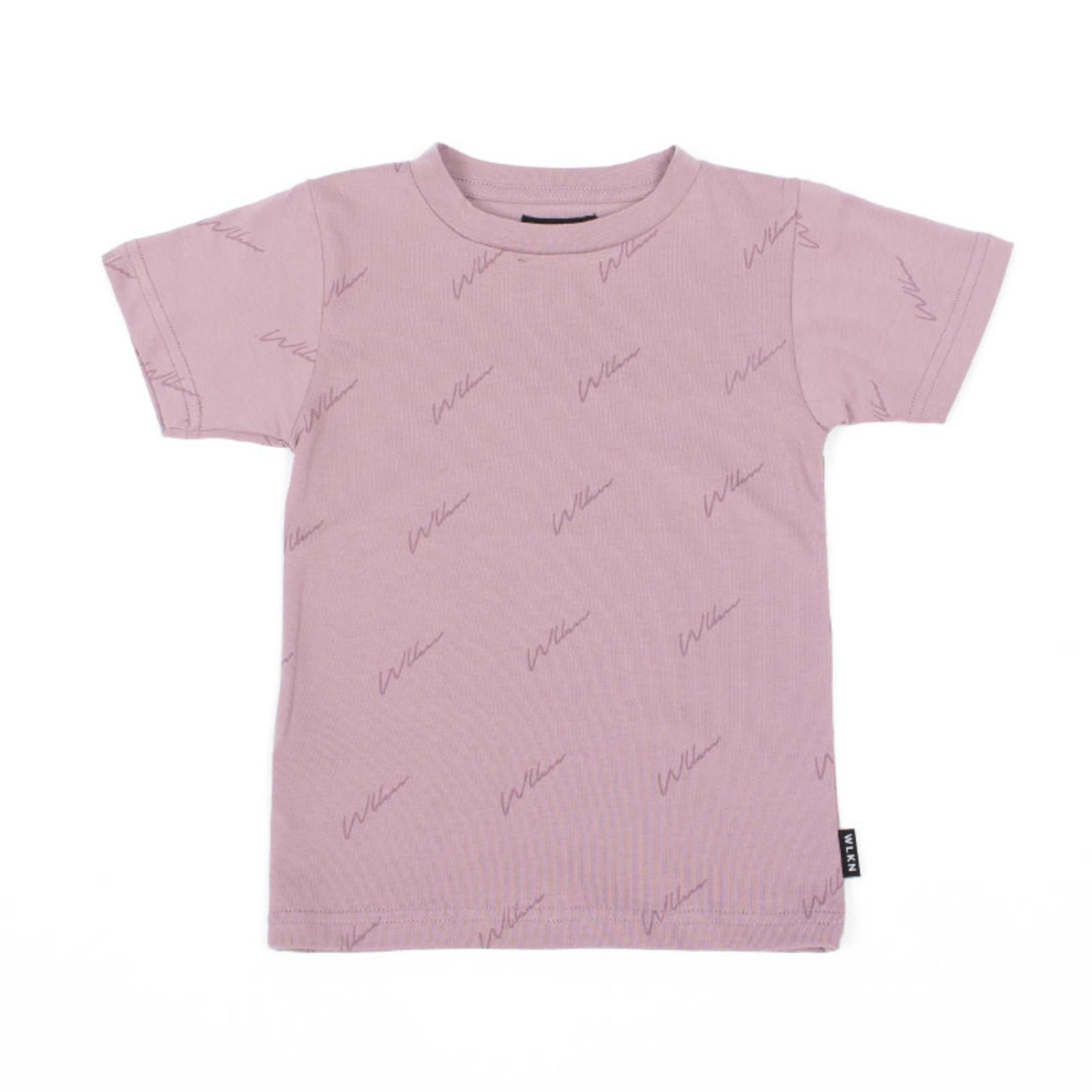 WLKN WLKN : Junior Allover Script T-Shirt