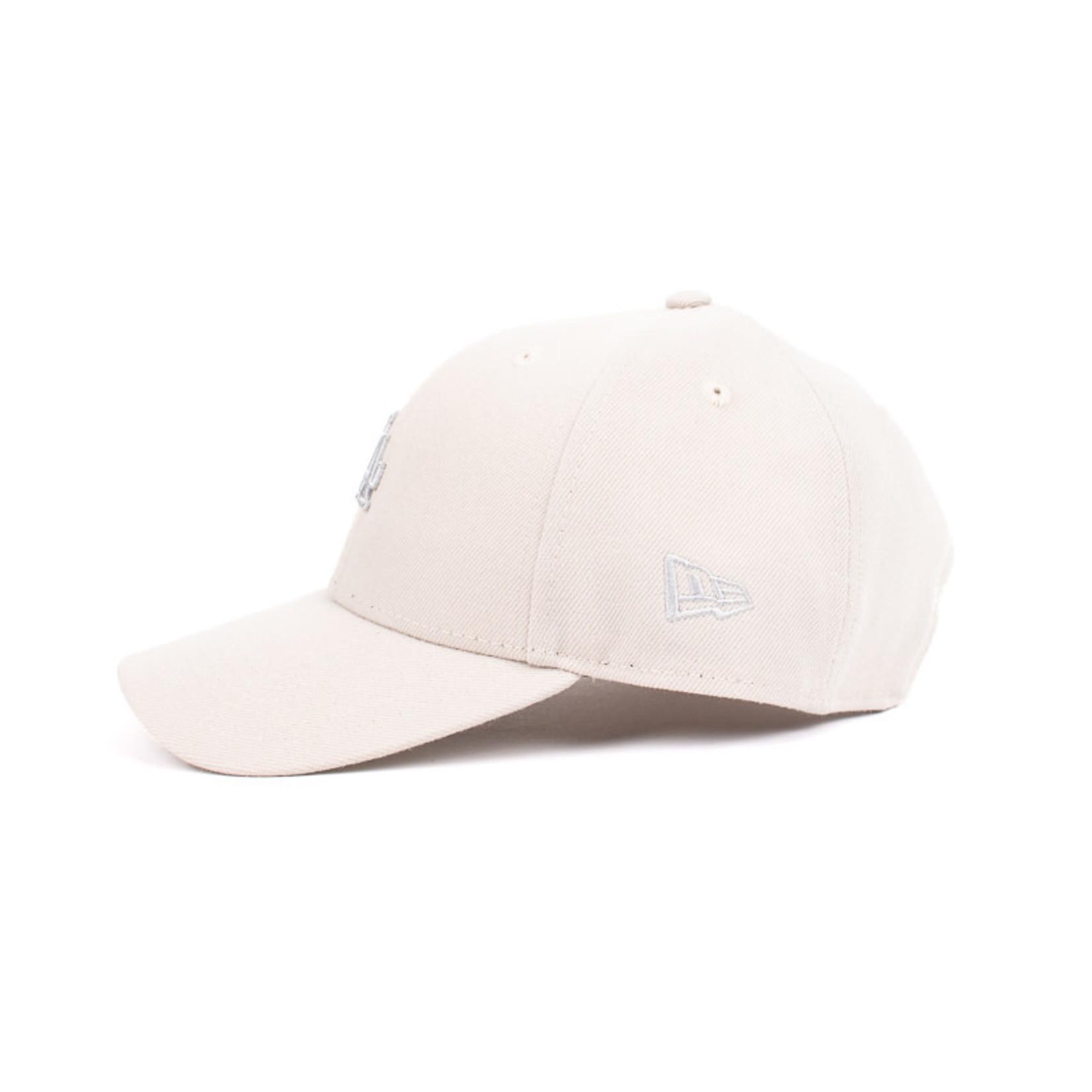 New Era New Era : 940 Los Angeles Dodgers Lt Grey Logo Cap