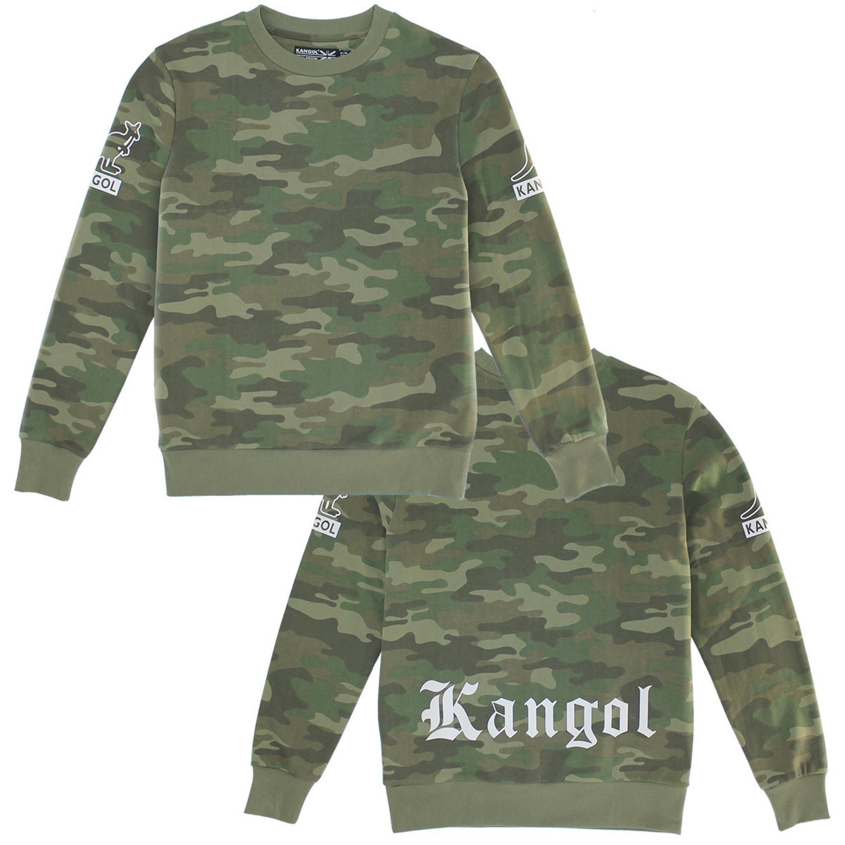 Kangol Kangol : Gothic Back Logo Crewneck