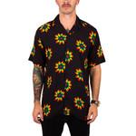 Petals and Peacocks Petals and Peacocks : Rainbow Sunflowers Vacation Shirt