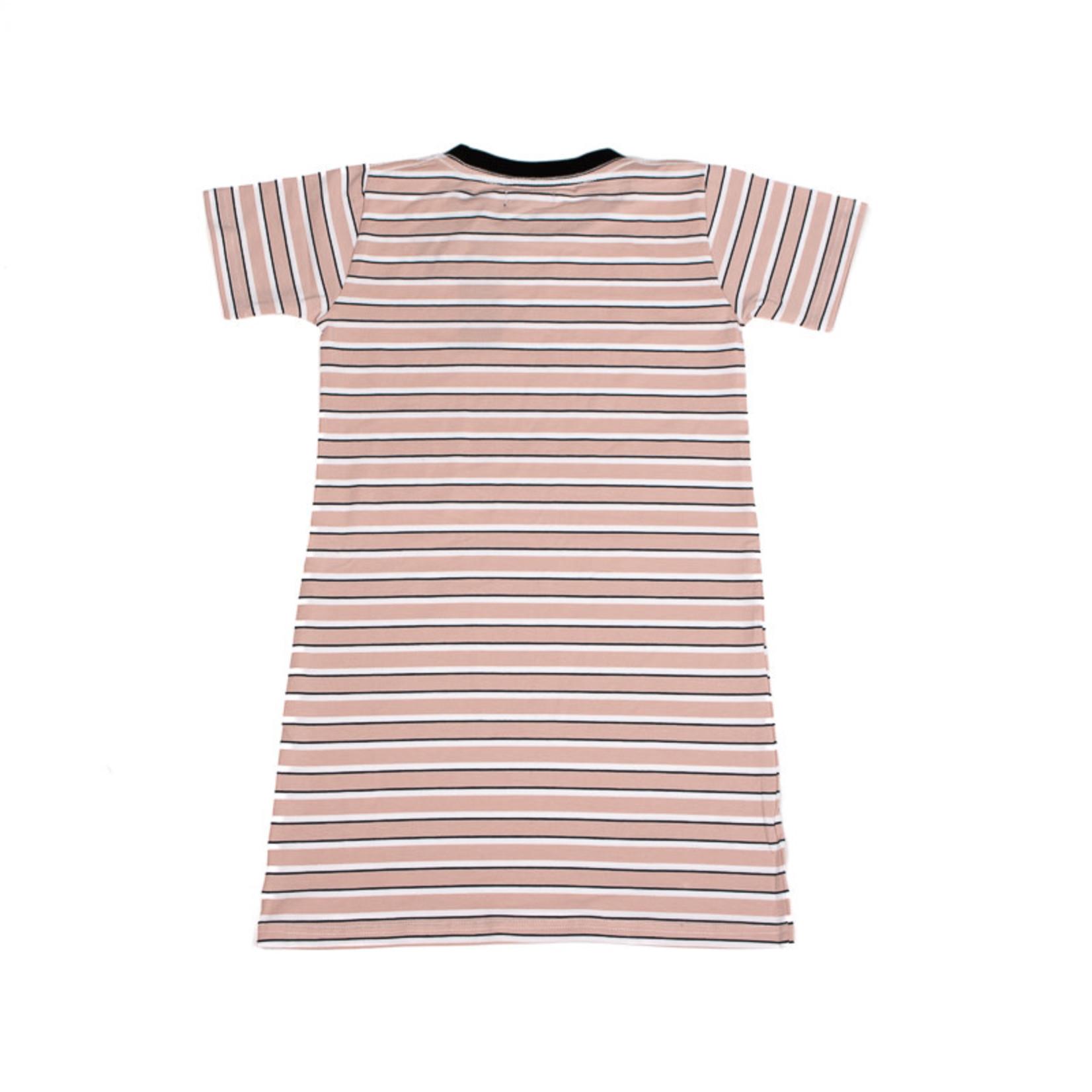 WLKN WLKN : Junior Country Lined Tee Dress