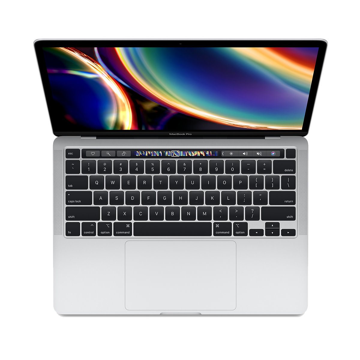 Apple 13-inch MacBook Pro with Touch Bar - Silver 2.0GHz quad-core 10th-generation Intel Core i5 processor, 512GB