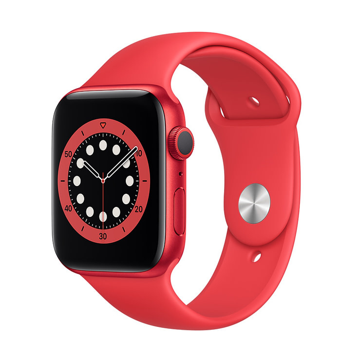 Apple Apple Watch Series 6 GPS, 44mm PRODUCT(RED) Aluminum Case with PRODUCT(RED) Sport Band - Regular