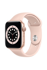 Apple Apple Watch Series 6 GPS, 40mm Gold Aluminum Case with Pink Sand Sport Band - Regular