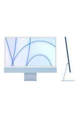 Apple 24-inch iMac with Retina 4.5K display: Apple M1 chip with 8‑core CPU and 7‑core GPU, 256GB - Blue