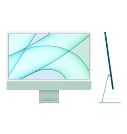 Apple 24-inch iMac with Retina 4.5K display: Apple M1 chip with 8‑core CPU and 8‑core GPU, 512GB - Green
