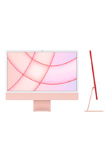 Apple 24-inch iMac with Retina 4.5K display: Apple M1 chip with 8‑core CPU and 8‑core GPU, 512GB - Pink