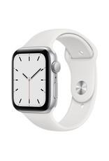 Apple Apple Watch SE 44mm Silver Aluminum White Sports Band GPS