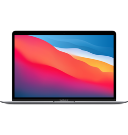 Apple WSE 13-inch MacBook Air - Space Gray - Apple M1 chip with 8‑core CPU, 8‑core GPU and 16‑core Neural Engine, 16GB unified memory, 512GB SSD storage, 3yr AppleCare+ for MacBook Air