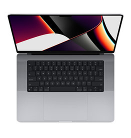 Apple 16-inch MacBook Pro: Apple M1 Pro chip with 10‑core CPU and 16‑core GPU, 512GB SSD - Space Gray