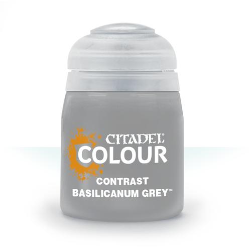 Citadel Paints Contrast: Basilicanum Grey