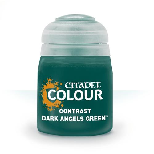 Citadel Paints Contrast: Dark Angels Green