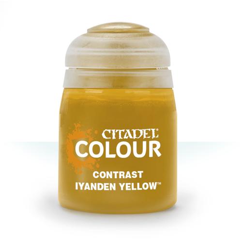 Citadel Paints Contrast: Iyanden Yellow