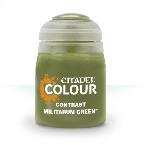 Citadel Paints Contrast: Militarum Green