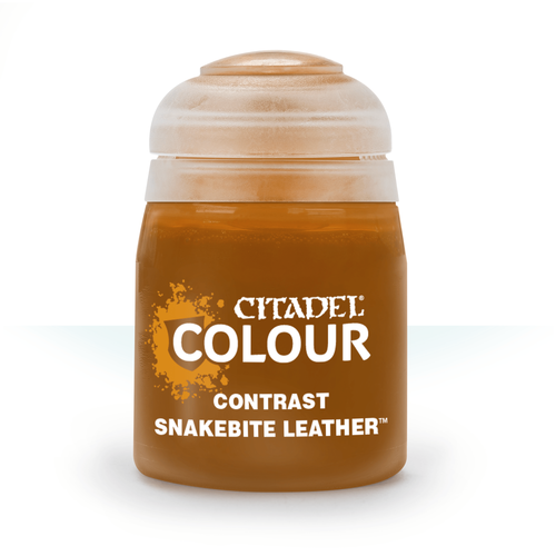 Citadel Paints Contrast: Snakebite Leather