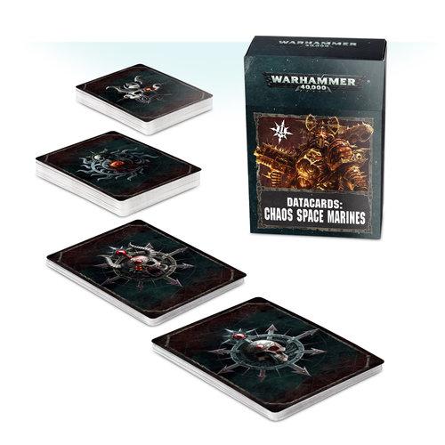Warhammer 40k Chaos Marine Datacards
