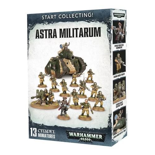 Warhammer 40k Astra Militarum Start Collecting