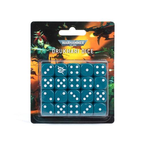 Warhammer 40k Drukhari Dice Set