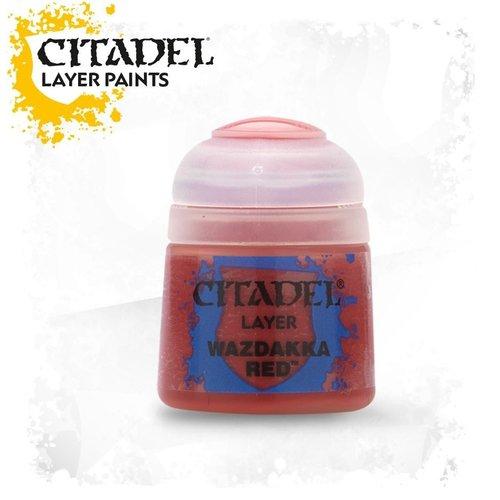 Citadel Paints Wazdakka Red